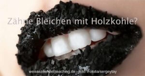 Holzkohle für weiße Zähne social
