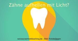 Schadet Zähne aufhellen mit Licht? social