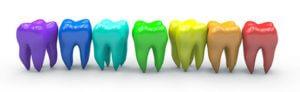 Zähne aufhellen zu hause Zahnreihe