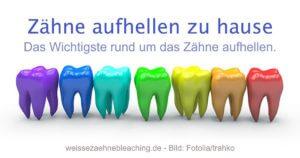Zähne aufhellen zu hause Zahnreihe social