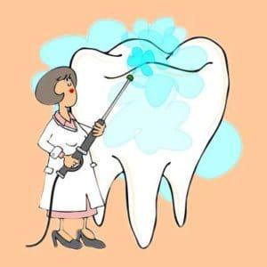 Elektrische Mundduschen für weiße Zähne